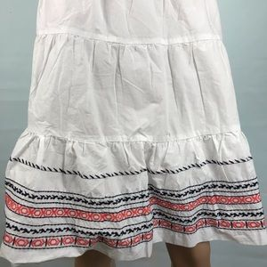 d77f0287bfbccd Tommy Hilfiger Skirts - NWT Tommy Hilfiger white Embroidered Skirt